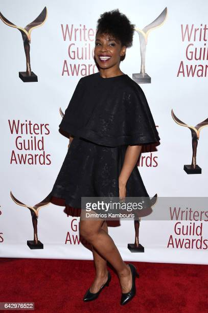 Amy Ruffin attends 69th Writers Guild Awards New York Ceremony at Edison Ballroom on February 19 2017 in New York City