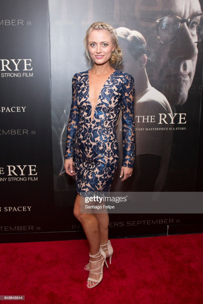 Amy Rutberg attends 'Rebel In The Rye' New York Premiere at Metrograph on September 6, 2017 in New York City.