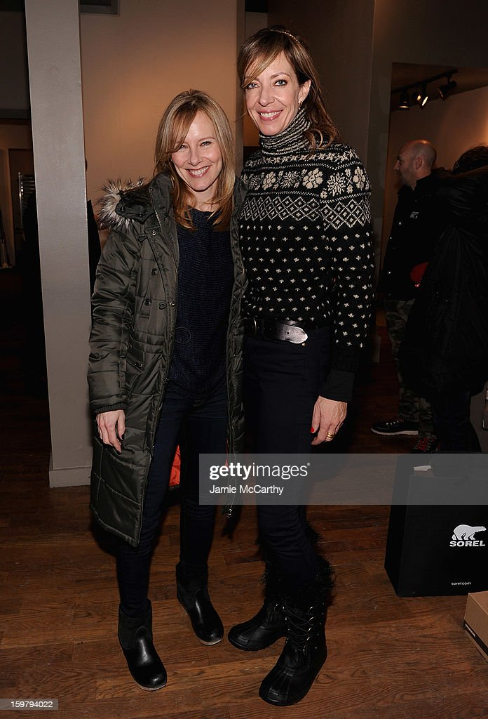 <a gi-track='captionPersonalityLinkClicked' href=/galleries/search?phrase=Amy+Ryan&family=editorial&specificpeople=227236 ng-click='$event.stopPropagation()'>Amy Ryan</a> and <a gi-track='captionPersonalityLinkClicked' href=/galleries/search?phrase=Allison+Janney&family=editorial&specificpeople=206290 ng-click='$event.stopPropagation()'>Allison Janney</a> at the Grey Goose Blue Door on January 20, 2013 in Park City, Utah.