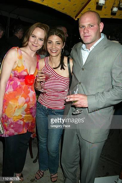 Amy Ryan Callie Thorne and Domenick Lombardozzi