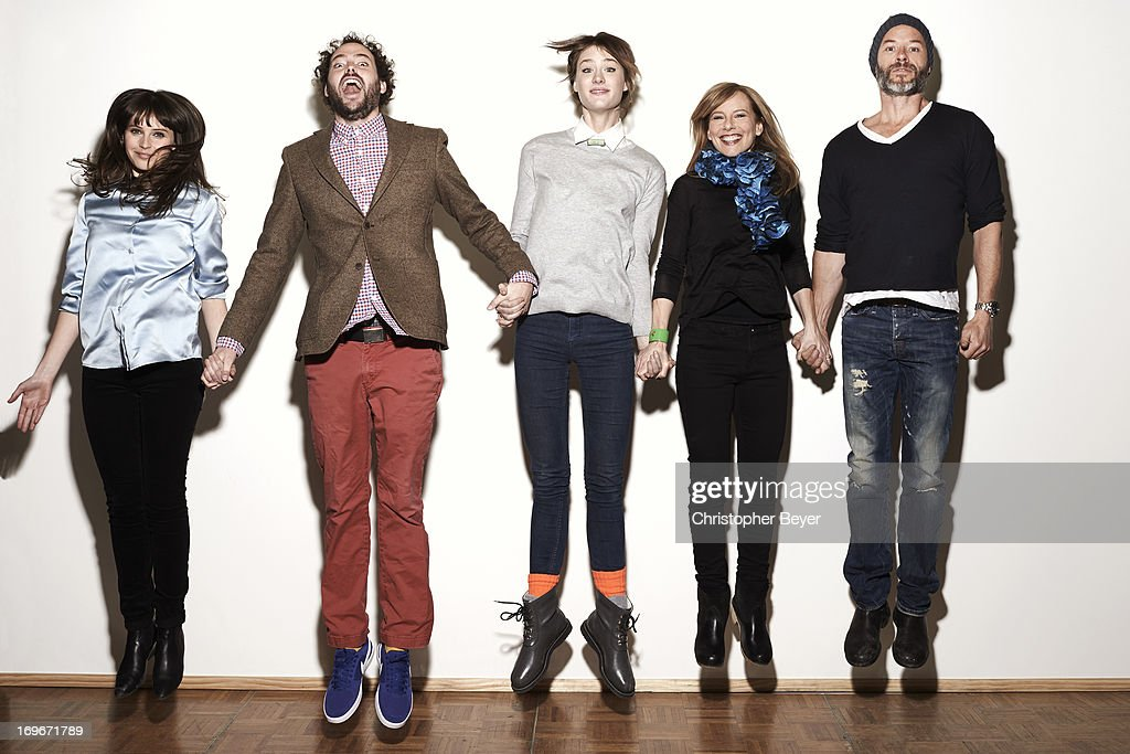 Cast of Breathe In, Entertainment Weekly, January 20, 2013