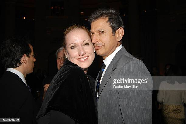 Amy Sacco and Jeff Goldblum attend VANITY FAIR Tribeca Film Festival Party hosted by Graydon Carter and Robert DeNiro at The State Supreme Courthouse...