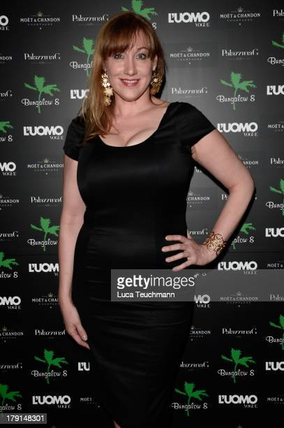 Amy Sacco attends Bungalow 8 James Franco Venice Film Festival Premiere Party for Child of God and Palo Alto during the 70th Venice International...