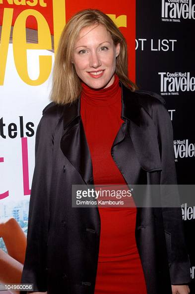 Amy Sacco during 2003 Conde Nast Traveler 'Hot List' Party at Maritime Hotel in New York City New York United States