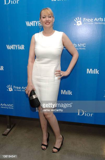 Amy Sacco during 8th Annual Free Arts New York City Benefit at Milk Gallery in New York City New York United States