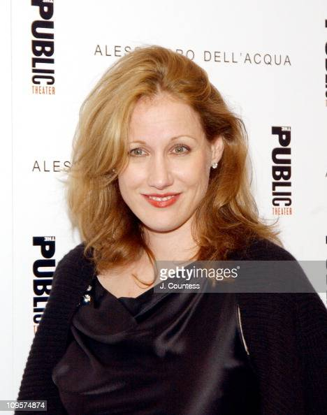 Amy Sacco during Alessandro Dell'Acqua Celebrates the Opening of his First US Flagship Store With Public Theater BashFashion on Stage at The Public...
