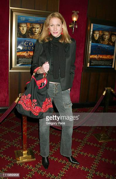 Amy Sacco during 'Cold Mountain' New York Premiere Inside Arrivals at The Ziegfeld Theater in New York City New York United States