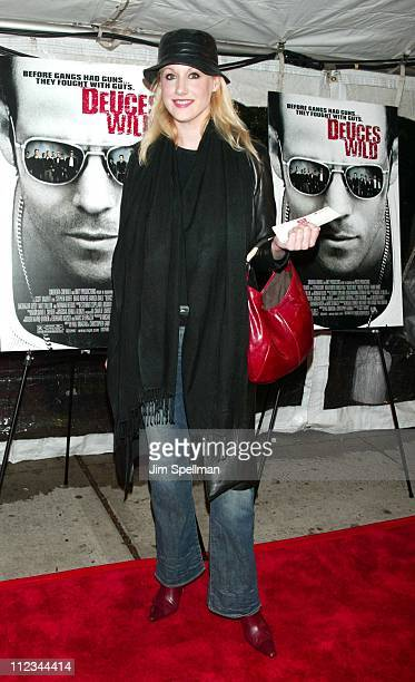 Amy Sacco during 'Deuces Wild' New York City Premiere at Chelsea West Cinema in New York City New York United States