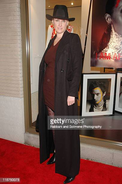 Amy Sacco during Iman and Valentino Host Cocktail Reception Supporting 'Keep a Child Alive' November 15 2006 at Valentino Boutique in New York City...