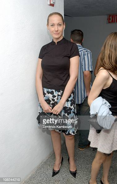 Amy Sacco during MercedesBenz Fashion Week Spring 2004 Marc Jacobs After Party at Maritime Hotel in New York City New York United States