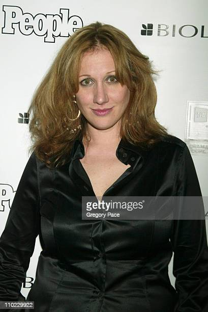 Amy Sacco during People Magazine Presents Tapestry of Entertainers Coming Together to Benefit the Drama Dept at Lot 61 in New York City New York...