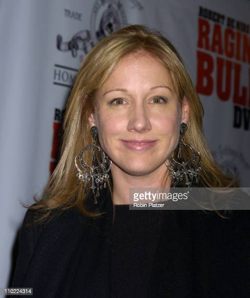 Amy Sacco during 'Raging Bull' 25th Anniversary and Collector's Edition DVD Release Celebration at The Ziegfeld Theatre in New York New York United...