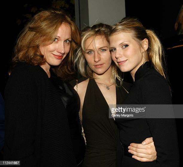Amy Sacco Mickey Sumner and Theodora Richards during Donna Karan Celebrates the First Twenty Years with the Launch of 'The Journey of a Woman 20...