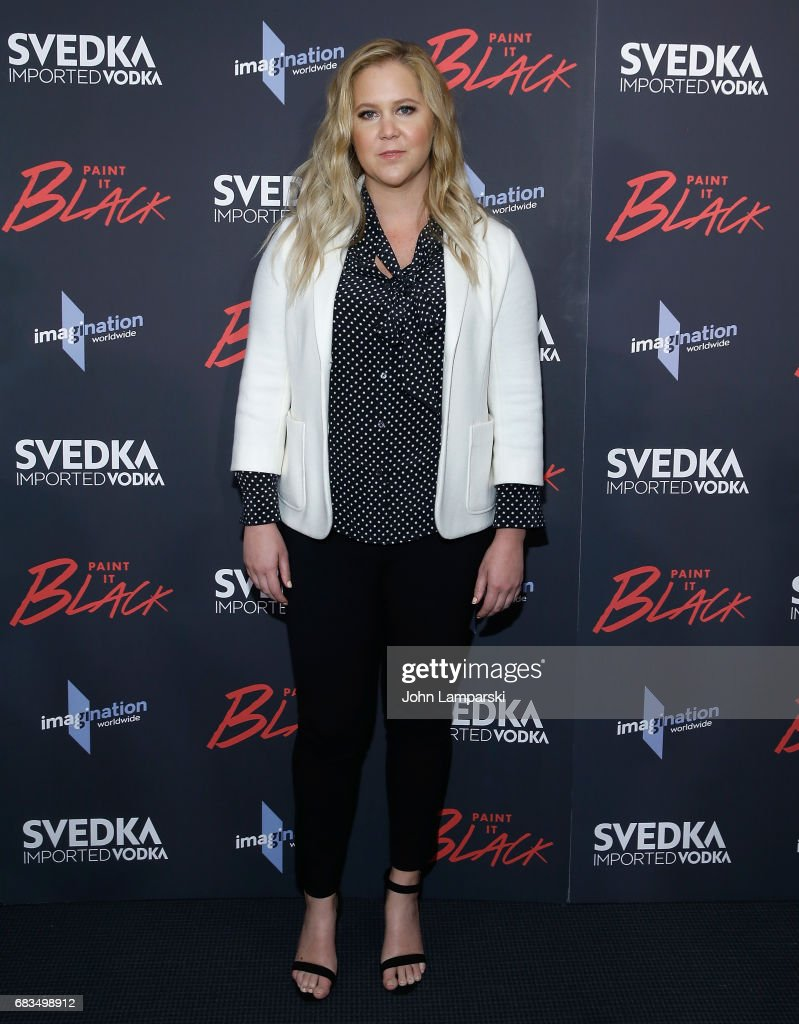 Amy Schumer attends 'Paint It Black' New York premiere at the Museum of Modern Art on May 15, 2017 in New York City.