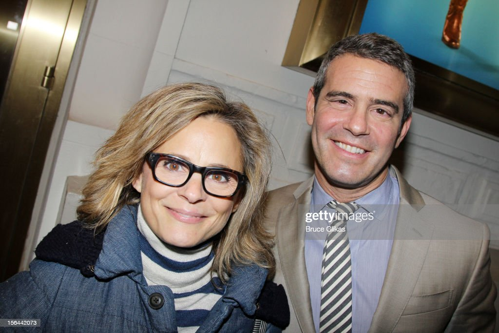 <a gi-track='captionPersonalityLinkClicked' href=/galleries/search?phrase=Amy+Sedaris&family=editorial&specificpeople=209343 ng-click='$event.stopPropagation()'>Amy Sedaris</a> and <a gi-track='captionPersonalityLinkClicked' href=/galleries/search?phrase=Andy+Cohen+-+Television+Personality&family=editorial&specificpeople=7879180 ng-click='$event.stopPropagation()'>Andy Cohen</a> attend the opening night of 'The Performers' on Broadway at the Longacre Theatre on November 14, 2012 in New York City.