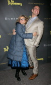Amy Sedaris and Andy Cohen attend 'The Performers' Broadway Opening Night at the Longacre Theatre on November 14 2012 in New York City