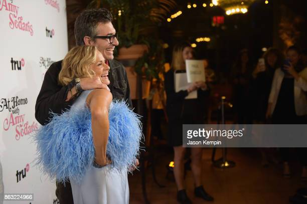 """Amy Sedaris and Cocreator and Executive Producer Paul Dinello attends the premiere screening and party for truTV's new comedy series """"At Home with..."""