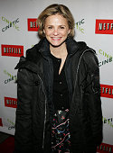 Amy Sedaris at the Netflix/Cinetic party at the 2005 Sundance Film Festival