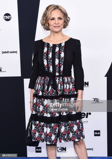 Amy Sedaris attends the 2017 Turner Upfront at Madison Square Garden on May 17 2017 in New York City