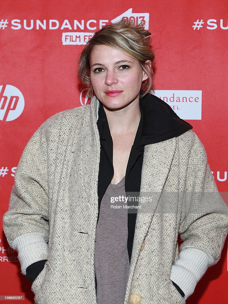 Amy Seimetz attends 'Pit Stop' Premiere at Prospector Square on January 21, 2013 in Park City, Utah.