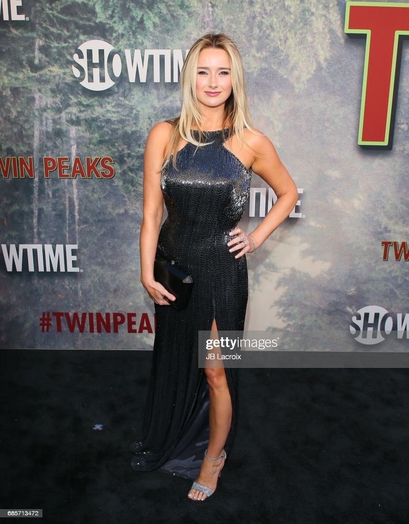 Amy Shiels attends the premiere of Showtime's 'Twin Peaks' at The Theatre at Ace Hotel on May 19, 2017 in Los Angeles, California.