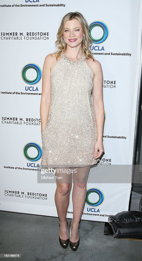 Amy Smart arrives at the 2nd annual an Evening of Environmental Excellence Gala held at a private residence on March 5, 2013 in Beverly Hills, California.