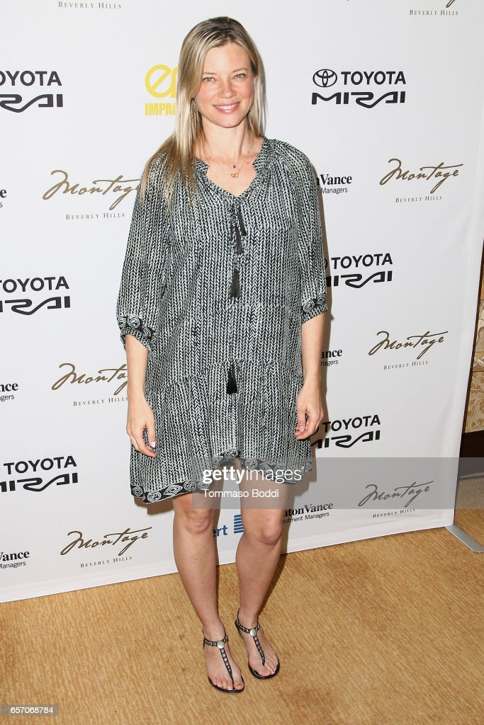 Amy Smart attends the EMA Impact Summit held at the Montage Beverly Hills on March 23, 2017 in Beverly Hills, California.