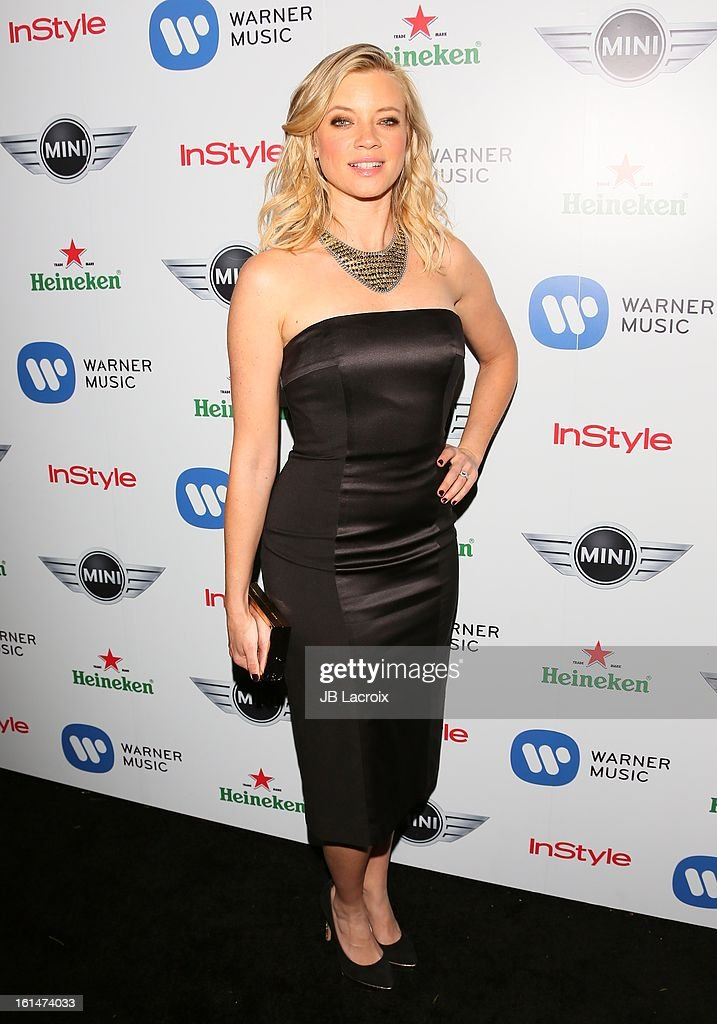 Amy Smart attends the Warner Music Group 2013 Grammy Celebration Presented By Mini held at Chateau Marmont on February 10, 2013 in Los Angeles, California.