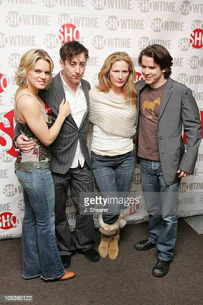 Amy Spanger Alan Cumming Ana Gasteyer and Christian Campbell