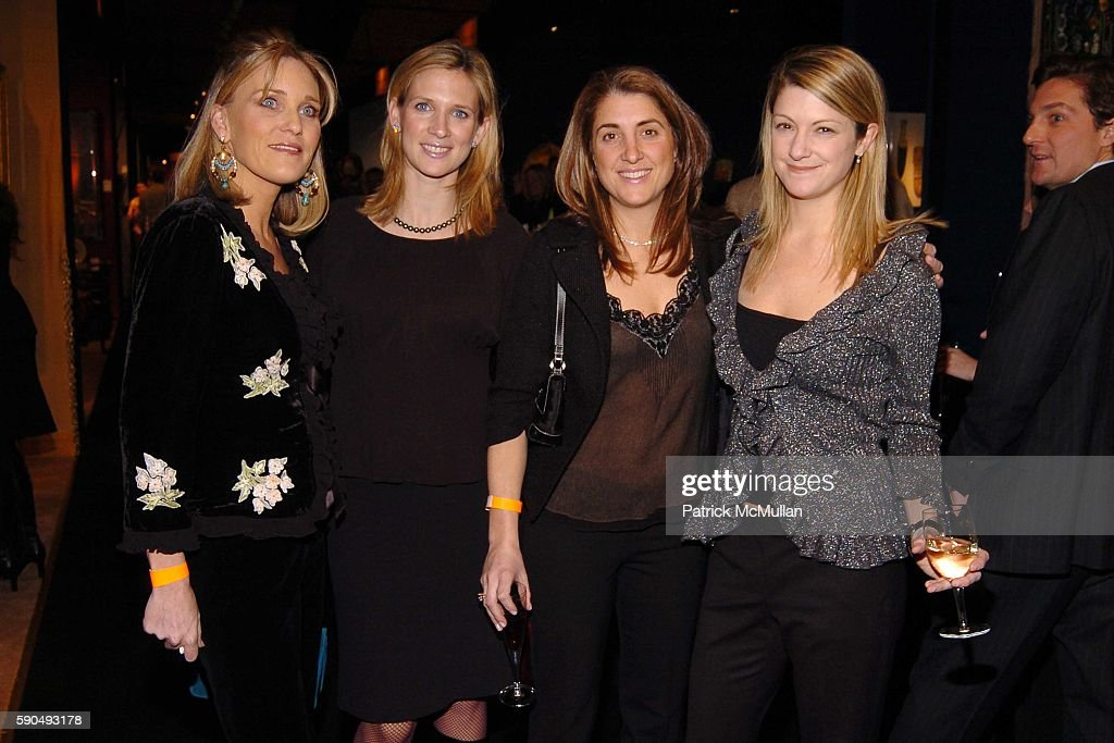 Amy Stroh Lana Welsh Catherine Goodwin and Carrie Rocco attend The 51st Annual Winter Antiques Show Young Collector's Night at The Seventh Regiment...