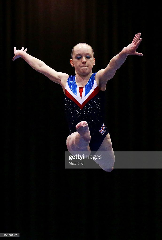 Amy Tinkler of Great Britain competes in the Beam during the Women's All Around and Aparatus Final during day five of the Australian Youth Olympic Festival at Sydney Olympic Park Sports Centre on January 20, 2013 in Sydney, Australia.