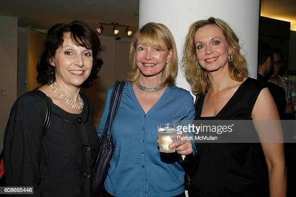 Amy Trapp Michelle Dumont and Patty Langhorne attend MARLENE STEINER Hosts An Evening Of REAL ESTATE ART at NYC on June 21 2007
