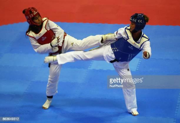 Amy Truesdale of Great Briatain against Seyma Nur Emeksiz of Turkey 44 F 58KG SemiFinal during 7th World Para Taekwondo Championships 2017 at Copper...