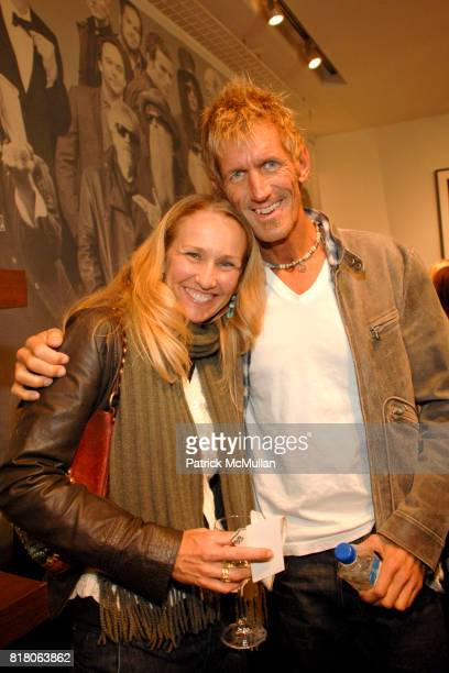Amy Van Skaik and Neil Hollister attend John Varvatos Fashion's Night Out Event benefiting The Art of Elysium with Photographer Robert Knight at John...