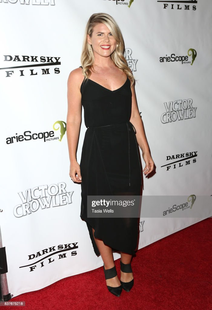 Amy Waller at the 'Hatchet' 10th Anniversary Celebration at ArcLight Cinemas on August 22, 2017 in Hollywood, California.