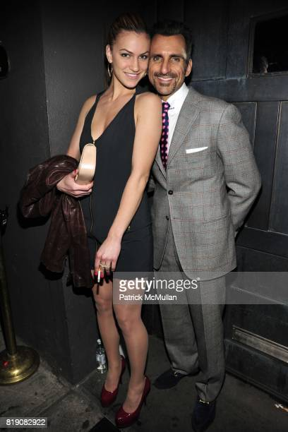 Amy Whiting and Wass Stevens attend NIGHT AT AVENUE at Avenue on March 18 2010 in New York City