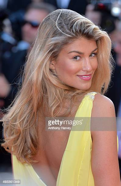 Amy Willerton attends the 'Clouds Of Sils Maria'premiere at the 67th Annual Cannes Film Festival on May 23 2014 in Cannes France