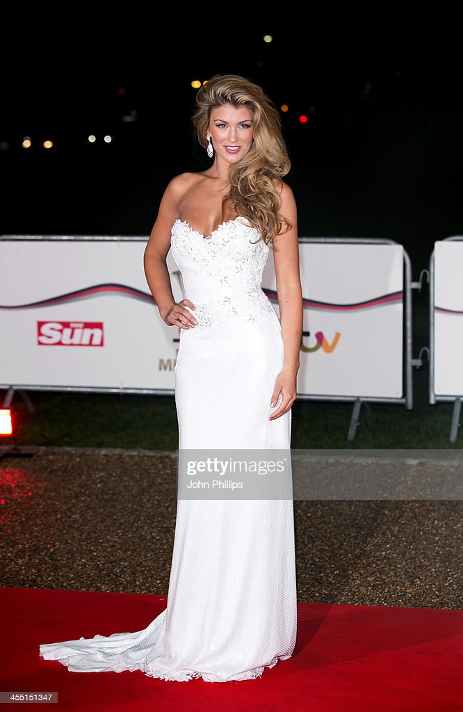 Amy Willerton attends The Sun Military Awards at National Maritime Museum on December 11, 2013 in London, England.