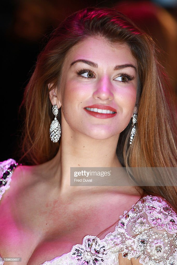 Amy Willerton attends the UK Premiere of 'Flight' at The Empire Cinema on January 17, 2013 in London, England.