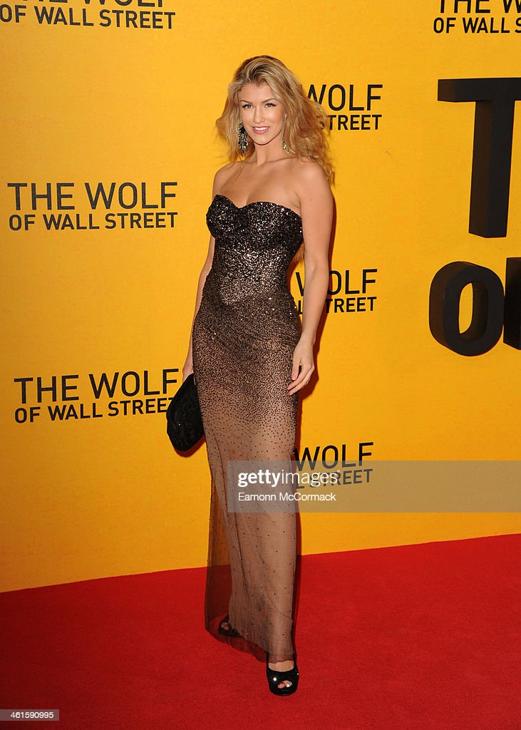 <a gi-track='captionPersonalityLinkClicked' href=/galleries/search?phrase=Amy+Willerton&family=editorial&specificpeople=8785597 ng-click='$event.stopPropagation()'>Amy Willerton</a> attends the UK Premiere of 'The Wolf Of Wall Street' at Odeon Leicester Square on January 9, 2014 in London, England.
