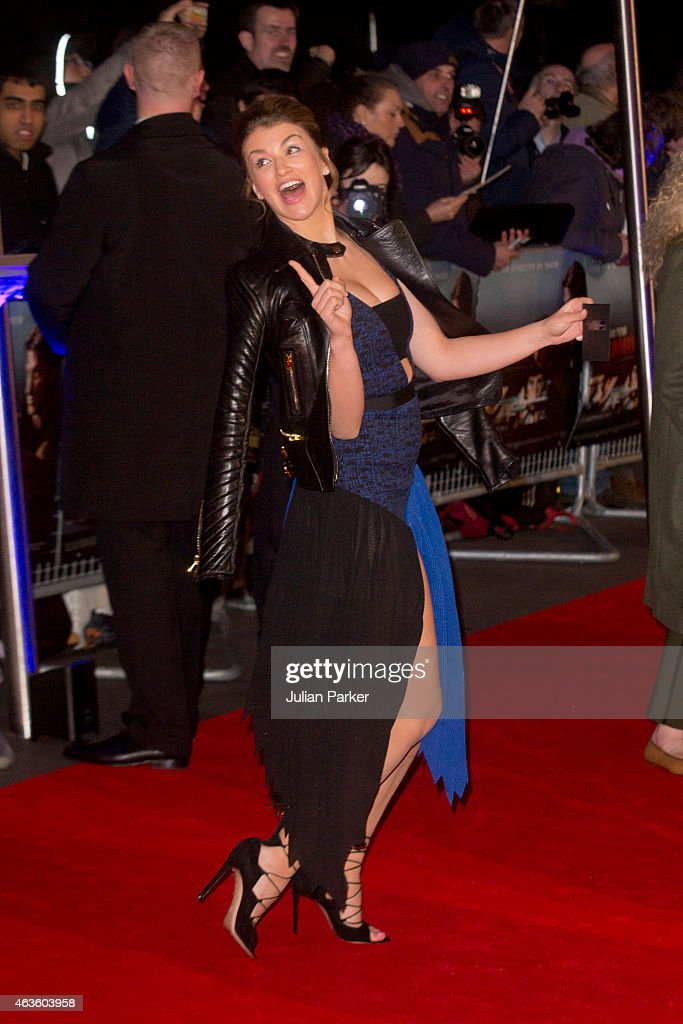 <a gi-track='captionPersonalityLinkClicked' href=/galleries/search?phrase=Amy+Willerton&family=editorial&specificpeople=8785597 ng-click='$event.stopPropagation()'>Amy Willerton</a> attends the World Premiere of 'The Gunman' at BFI Southbank on February 16, 2015 in London, England.