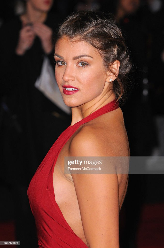 <a gi-track='captionPersonalityLinkClicked' href=/galleries/search?phrase=Amy+Willerton&family=editorial&specificpeople=8785597 ng-click='$event.stopPropagation()'>Amy Willerton</a> attends the World Premiere of 'The Hunger Games: Mockingjay Part 1' at Odeon Leicester Square on November 10, 2014 in London, England.