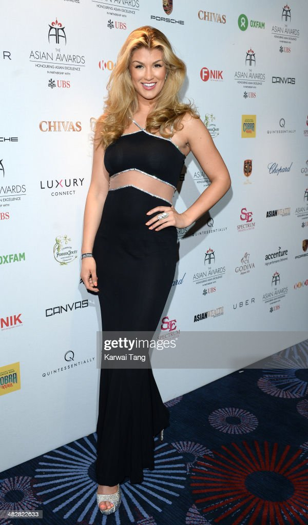 <a gi-track='captionPersonalityLinkClicked' href=/galleries/search?phrase=Amy+Willerton&family=editorial&specificpeople=8785597 ng-click='$event.stopPropagation()'>Amy Willerton</a> poses in the press room of the The Asian Awards held at The Grosvenor House Hotel on April 4, 2014 in London, England.