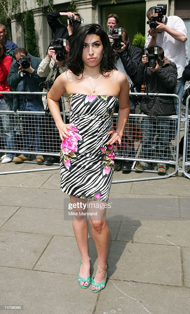 Amy Winehouse at the Grosvenor House in London, United Kingdom.