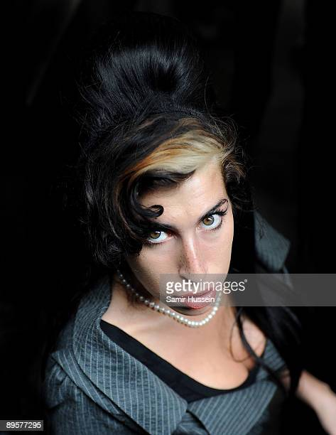 Amy Winehouse attends court to face assault charges at Westminster Magistrates Court on July 23 2009 in London England