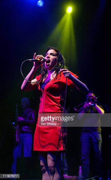 Amy Winehouse during Amy Winehouse in Concert May 3 2004 at Shepherds Bush Empire in London Great Britain