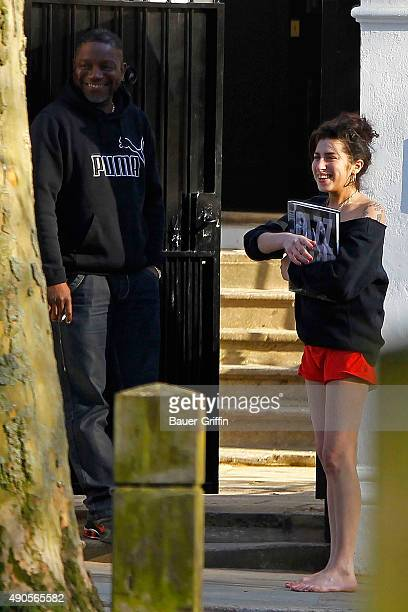 Amy Winehouse is seen on March 20 2011 in London United Kingdom