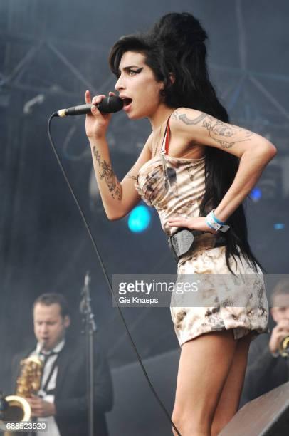 Amy Winehouse Rock Werchter Festival Werchter Belgium