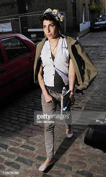 Amy Winehouse sighting on November 11 2008 in London England