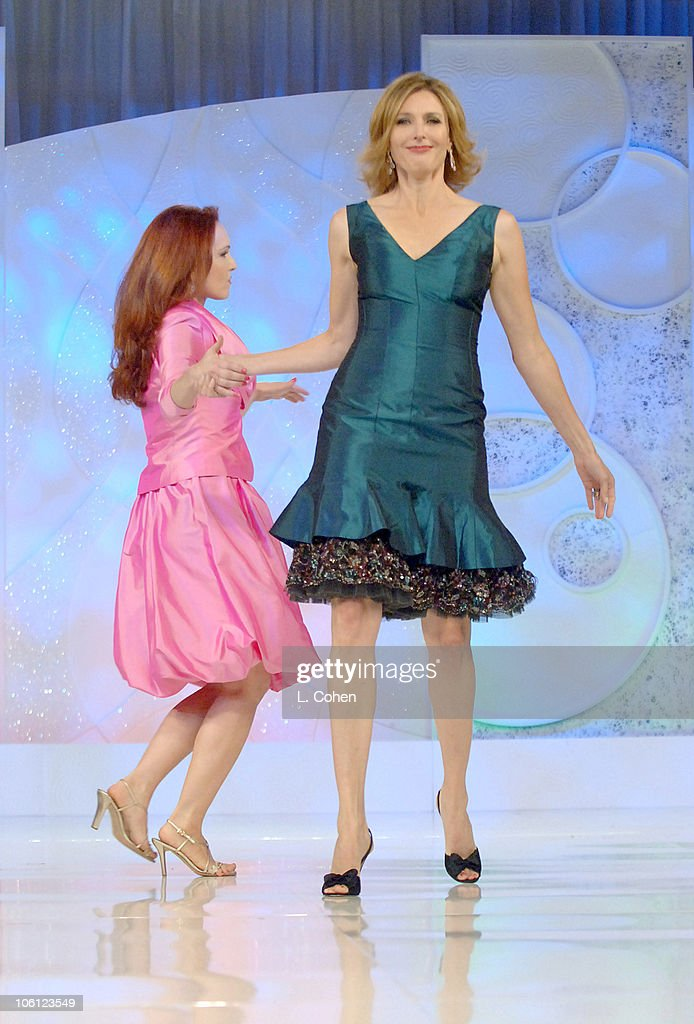 Amy Yasbeck and Brenda Strong during 'Runway For Life' Benefiting St Jude Children's Research Hospital Sponsored by Disney's 'The Little Mermaid' DVD...